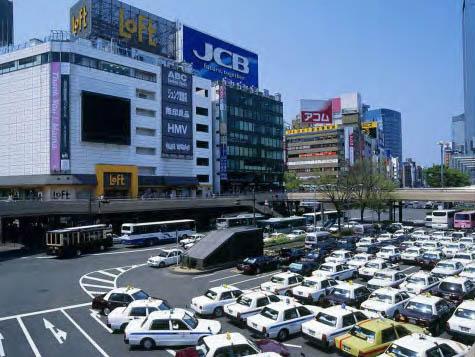 日本某停车场翻修工事
