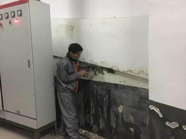 【佳固士背水面抗渗密封系统】在地下水泵房渗漏修缮施工中的应用